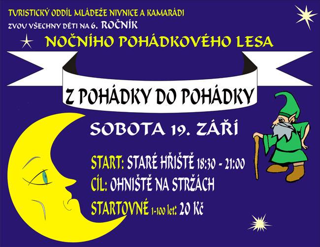 Plakát — pohádkový les 2009.